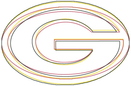 The Sports Design Blog The History Of The Packers G