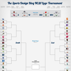 NCAA Logos Tournament – First Four