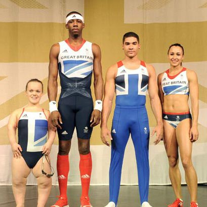 Guest Post – Team GB Model The New Olympic 2012 Kit